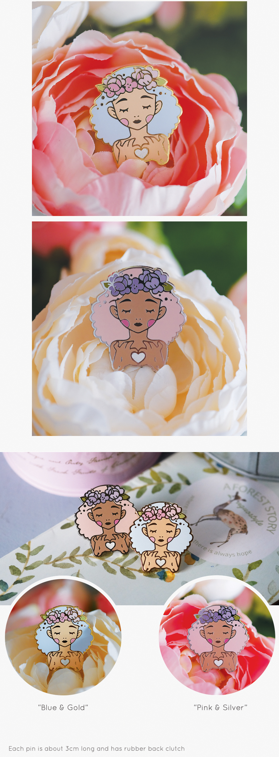 love dolls pins